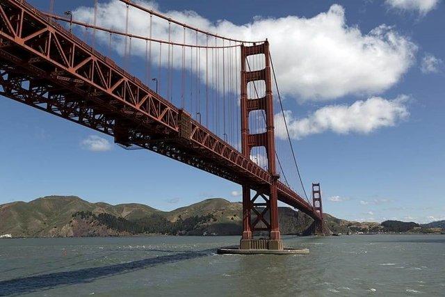 Bridge Golden Gate Towers - San Francisco
