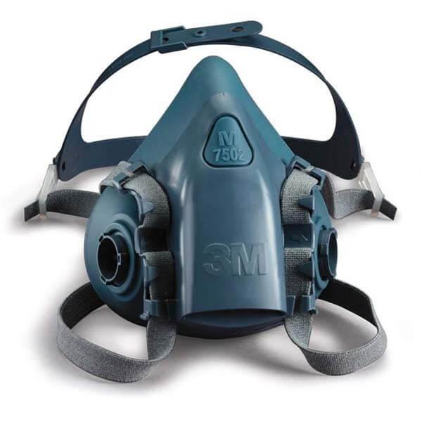 Media máscara reutilizable Serie 7500, de 3M.