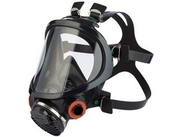 Máscara completa reutilizable Serie 7907S, de 3M.