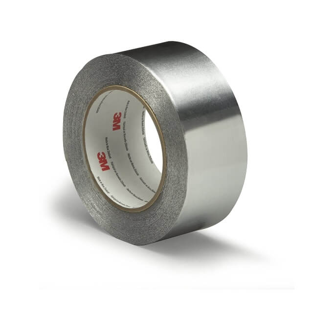 Cinta adhesiva de aluminio, de 3M.