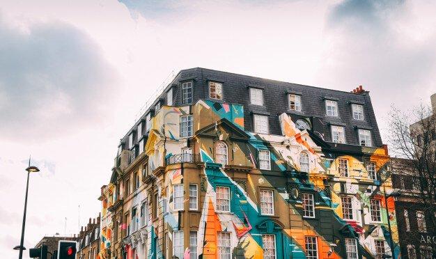 Pintura para pared exteriores